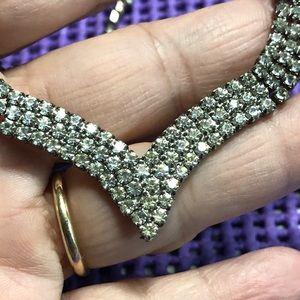 Jewelry - Vintage Rhinestone Necklace